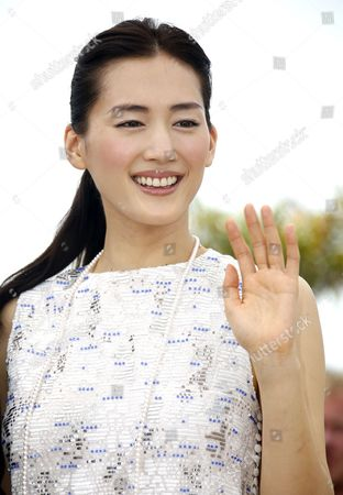 Japanese Actress Haruka Ayase Poses During the Photocall For 'Umimachi Diary' (our Little Sister) at the 68th Annual Cannes Film Festival in Cannes France 14 May 2015 the Movie is Presented in the Official Competition of the Festival Which Runs From 13 to 24 May France Cannes