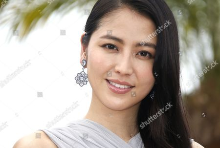 Japanese Actress Masami Nagasawa Poses During the Photocall For 'Umimachi Diary' (our Little Sister) at the 68th Annual Cannes Film Festival in Cannes France 14 May 2015 the Movie is Presented in the Official Competition of the Festival Which Runs From 13 to 24 May France Cannes