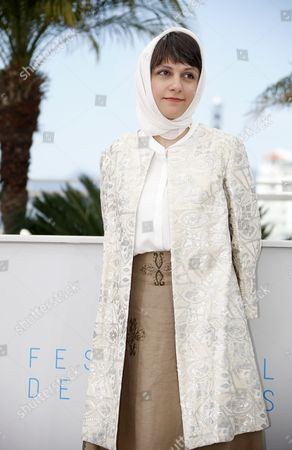 Stock Image of Iranian Director Ida Panahandeh Poses During the Photocall For 'Nahid' at the 68th Annual Cannes Film Festival in Cannes France 17 May 2015 the Movie is Presented in the Section Un Certain Regard of the Festival Which Runs From 13 to 24 May France Cannes