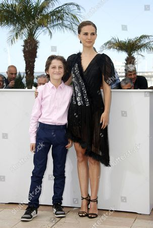 Us Actress and Director Natalie Portman (r) and Israeli Actor Amir Tessler (l) Pose During the Photocall For 'Tale of Love and Darkness' at the 68th Annual Cannes Film Festival in Cannes France 17 May 2015 the Movie is Presented in the Section Special Screenings of the Festival Which Runs From 13 to 24 May France Cannes