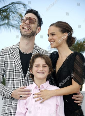Israeli Actor Gilad Kahana (l) Us Actress and Director Natalie Portman (r) and Israeli Actor Amir Tessler (c) Pose During the Photocall For 'Tale of Love and Darkness' at the 68th Annual Cannes Film Festival in Cannes France 17 May 2015 the Movie is Presented in the Section Special Screenings of the Festival Which Runs From 13 to 24 May France Cannes