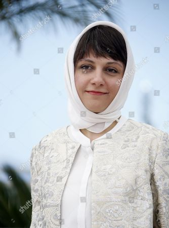 Stock Picture of Iranian Director Ida Panahandeh Poses During the Photocall For 'Nahid' at the 68th Annual Cannes Film Festival in Cannes France 17 May 2015 the Movie is Presented in the Section Un Certain Regard of the Festival Which Runs From 13 to 24 May France Cannes