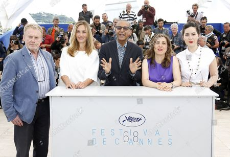 Jury Members (l-r) Polish Actor Daniel Olbrychski Belgian Actress Cecile De France Mauritanian Director Abderrahmane Sissako Lebanese Director Jonas Hadjithomas and French Director Rebecca Zlotowski Pose During the Cinefondation and Short Films Jury Photocall at the 68th Annual Cannes Film Festival in Cannes France 21 May 2015 the Festival Runs From 13 to 24 May France Cannes