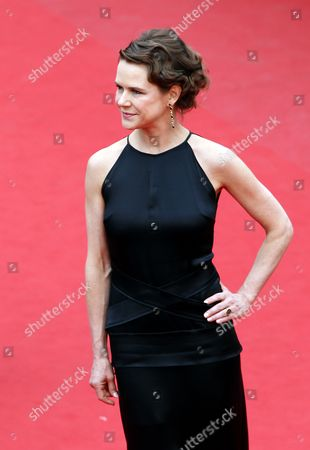 Stock Image of Mexican Actress Nailea Norvind Arrives For the Screening of 'Macbeth' During the 68th Annual Cannes Film Festival in Cannes France 23 May 2015 the Movie is Presented in the Official Competition of the Festival Which Runs From 13 to 24 May France Cannes