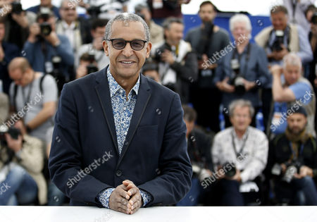 Jury President Mauritanian Director Abderrahmane Sissako Poses During the Cinefondation and Short Films Jury Photocall at the 68th Annual Cannes Film Festival in Cannes France 21 May 2015 the Festival Runs From 13 to 24 May France Cannes