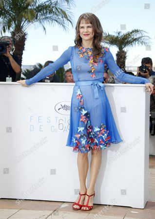 Mexican Actress Nailea Norvind Poses During the Photocall For 'Chronic' at the 68th Annual Cannes Film Festival in Cannes France 22 May 2015 the Movie is Presented in the Official Competition of the Festival Which Runs From 13 to 24 May France Cannes