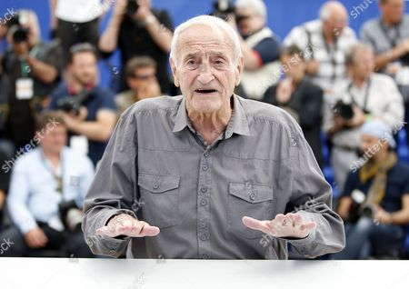 French Glaciologist Claude Lorius Poses During the Photocall For 'La Glace Et Le Ciel' (ice and the Sky) at the 68th Annual Cannes Film Festival in Cannes France 23 May 2015 the Movie is Presented out of Competition at the Festival Which Runs From 13 to 24 May France Cannes