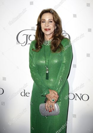 Marta Brivio Sforza Attends the Party Held by Swiss Jewelry Company De Grisogono at the Hotel Du Cap Eden Roc in Cap D'antibes France 19 May 2015 During the 68th Annual Cannes Film Festival the Festival Runs From 13 to 24 May France Cap D'antibes