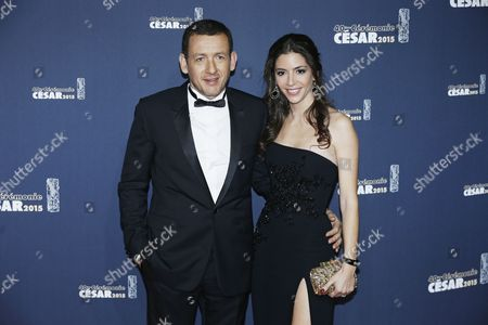 French Actor Dany Boon (l) and His Wife Yael Boon (r) Arrive For the 40th Annual Cesar Awards Ceremony Held at the Chatelet Theatre in Paris France 20 February 2015 France Paris