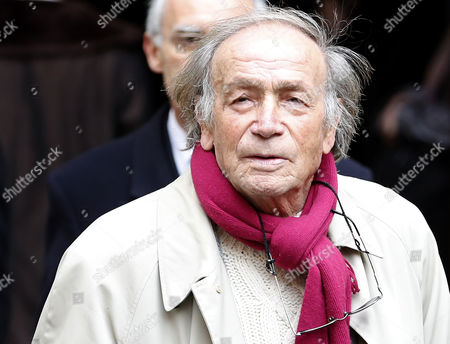 Italian Actor Venantino Venantini Arrives at the Funeral of French Director Georges Lautner Held at the Cathedral of Sainte Reparate in Nice Southern France 30 November 2013 Georges Lautner Died Aged 87 in Paris France on 22 November 2013 France Nice