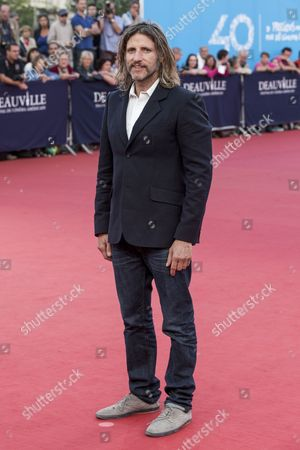 Us Film Director Saar Klein Arrives For the Screening of 'Chef' During the 40th Annual Deauville American Film Festival in Deauville France 07 September 2014 the Movie is Presented out of the Official Competition of the Festival That Runs From 05 to 14 September France Deauville