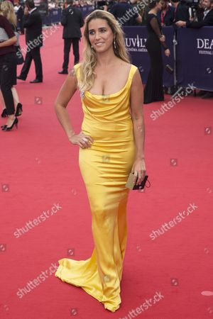 French Actress Vahina Giocante Arrives at the Festival Palace For the Opening Night of the 40th Annual Deauville American Film Festival and Tribute to Jessica Chastain in Deauville France 05 September 2014 the Festival Runs From 05 to 14 September France Deauville