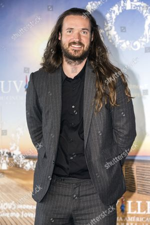 Us Director Mike Cahill Poses at a Photocall For 'I Origins' During the 40th Annual Deauville American Film Festival in Deauville France 11 September 2014 the Movie is Presented in the Official Competition of the Festival That Runs From 05 to 14 September France Deauville