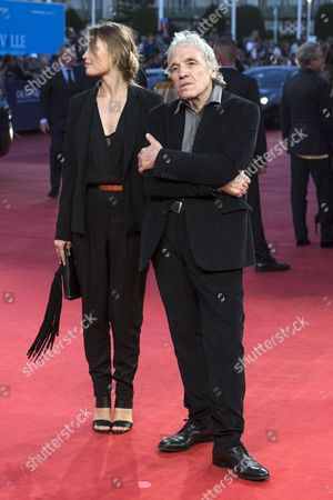 Us Film Director Abel Ferrara (r) and His Wife Actress Shanyn Leigh Arrive For the Screening of 'Get on Up' During the 40th Annual Deauville American Film Festival in Deauville France 12 September 2014 the Movie is Presented out of the Official Competition at the Festival That Runs From 05 to 14 September Epa/etienne Laurent France Deauville