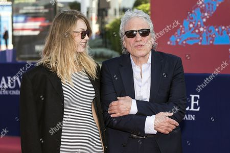 Us Film Director Abel Ferrara (r) and His Wife Actress Shanyn Leigh (l) Arrive For the Screening of 'Pasolini' During the 40th Annual Deauville American Film Festival in Deauville France 12 September 2014 the Movie is Presented out of the Official Competition at the Festival That Runs From 05 to 14 September France Deauville