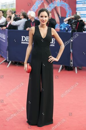 French Actress Sarah Kazemy Arrives For the Premiere of 'Sin City: a Dame to Kill For' and Closing Ceremony of the 40th Annual Deauville American Film Festival in Deauville France 13 September 2014 the Movie is Presented out of the Official Competition of the Festival That Runs From 05 to 14 September France Deauville