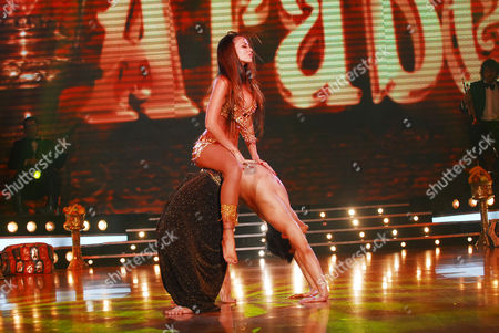 """Editorial picture of """"Dancing for a Dream"""" TV Programme, Buenos Aires, Argentina - 20 Aug 2008"""