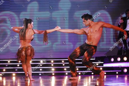 """Editorial photo of """"Dancing for a Dream"""" TV Programme, Buenos Aires, Argentina - 20 Aug 2008"""