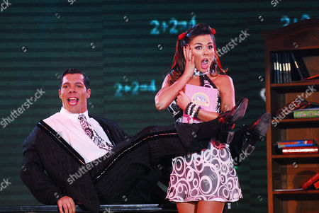 """Editorial image of """"Dancing for a Dream"""" TV Programme, Buenos Aires, Argentina - 20 Aug 2008"""