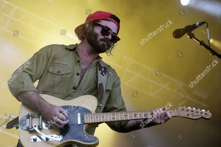 Angus Stone of Australian Band Angus and Julia Stone Performs During a Concert at the 27th Eurockeennes Festival in Belfort France 04 July 2015 the Music Festival Runs From 03 to 05 July France Belfort