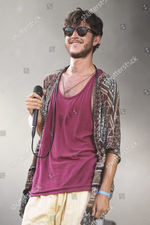 Belgian Singer Mac Colombie Performs with Oscar and the Wolf During a Concert at the 27th Eurockeennes Festival in Belfort France 04 July 2015 the Music Festival Runs From 03 to 05 July France Belfort