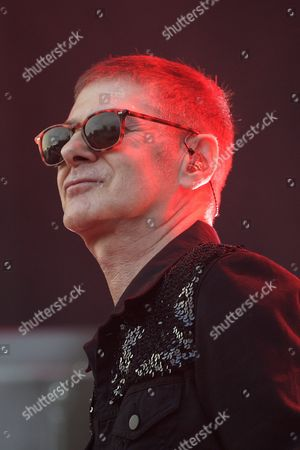 A Picture Made Available on 05 July 2015 of French Singer Etienne Daho Performing During a Concert at the 27th Eurockeennes Festival in Belfort France 04 July 2015 the Music Festival Runs From 03 to 06 July France Belfort