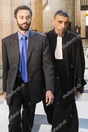 Stock Picture of Alec Wildenstein (l) Newphew of French Businessman Guy Wildenstein Arrives at the Paris Justice Palace For His and His Family's Trial For Tax Evasion and Fiscal Fraud in Paris France 22 September 2016 Wildenstein is Accused of Hiding His and His Family's Fortune in Off-shore Tax Shelters France Paris