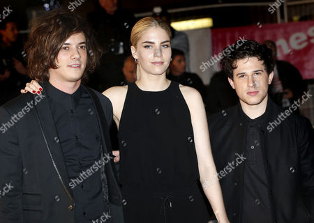 Members of the British Band London Grammar (l-r): Dot Major Hannah Reid and Dan Rothman Arrive For the 16th Nrj Music Awards at the Palais Des Festivals in Cannes France 13 December 2014 France Cannes