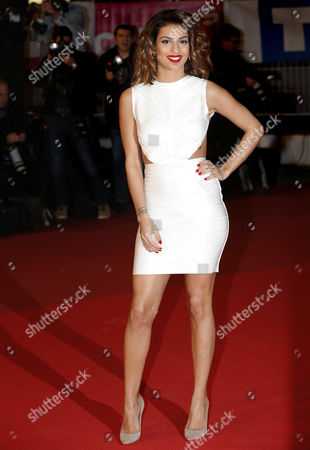 Israel-born French Singer Tal Benyerzi Arrives to the 16th Nrj Music Awards at the Palais Des Festivals in Cannes France 13 December 2014 France Cannes