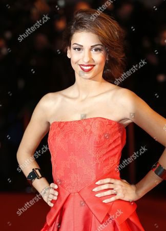 Israel Singer Tal Benyerzi Arrives at the 15th Nrj Music Awards in Cannes France 14 December 2013 France Cannes