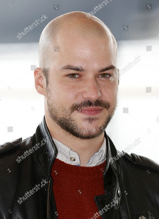 Canadian Actor Marc-andre Grondin Poses During a Photocall For the Tv Series 'Spotless' at the Annual Mipcom Television Content Market in Cannes France 13 October 2014 the Media Event Runs From 13 to 16 October France Cannes