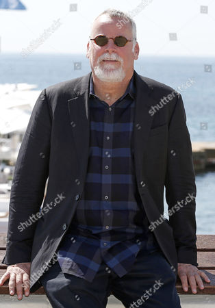 Us Bestselling Author Michael Connelly Poses During a Photocall For the Tv Series 'Bosch' at the International Audiovisual and Digital Content Market Miptv 2014 Held at the Festival Palace in Cannes France 07 April 2014 the Miptv Which Runs From 07 to 10 April is One of the World's Leading International Trade Events Dedicated to International Television Programs and to Digital Content and Interactive Entertainment For All Platforms France Cannes