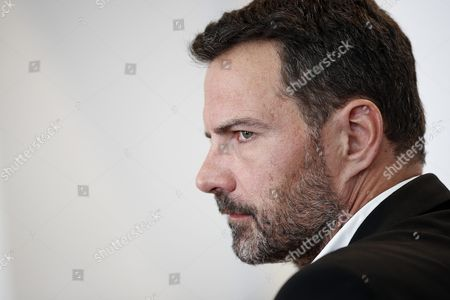 French Former Societe Generale Rogue Trader Jerome Kerviel Arrives to Fight a Civil Damages Case in Versailles France 23 September 2016 Keviel Has Been Sentenced to Pay One Milion Euros to Societe Generale Financial Services Group After They Claimed a 4 9 Billion Euros of Losses in 2008 France Versailles