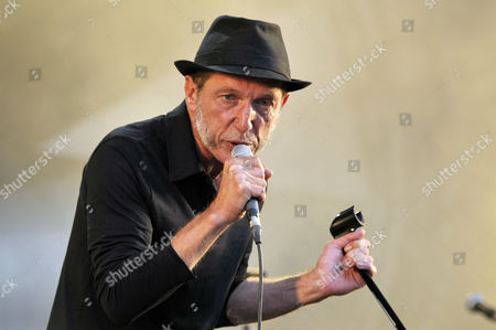 French Singer Miossec Performs During the Vieilles Charrues Festival in Carhaix France 18 July 2014 the Music Festival Runs From 17 to 20 July France Carhaix