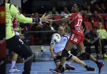 Editorial photo of Fyrom Handball Women Champions League - Oct 2014