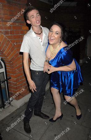 Rebecca Shiner and Luke Marsden