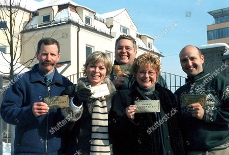 'After They Were Famous: Willy Wonka Chocolate Factory'   TV Peter Ostrum, Julie Dawn Cole, Michael Bollner, Denise Nickerson and Paris Themmen.