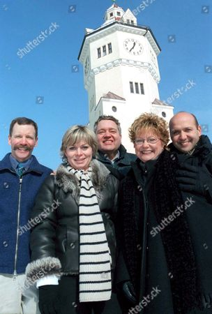 Stock Picture of 'After They Were Famous: Willy Wonka Chocolate Factory'   TV Peter Ostrum, Julie Dawn Cole, Michael Bollner, Denise Nickerson and Paris Themmen.