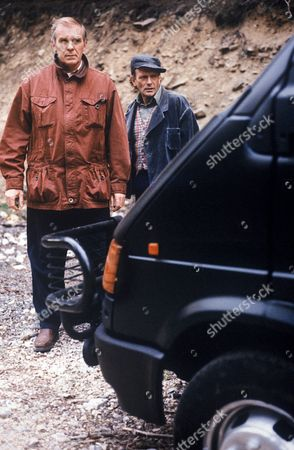 'Wokenwell'   TV Picture shows - Ian McElhinney as Sergeant Duncan Bonney and Neil Boorman as Mick Webb