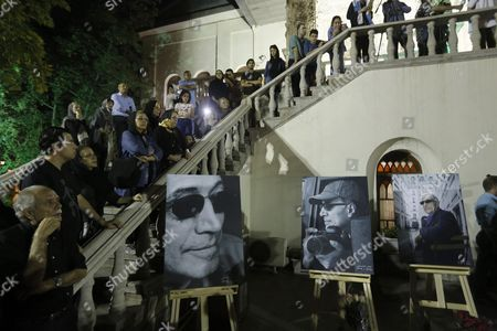 Iranians Attend a Ceremony Mourning the Death of Late Iranian Film Director Abbas Kiarostami at the Cinema Museum in Tehran Iran 05 July 2016 According to Media Reports Award-winning Film Director Abbas Kiarostami Died After Several Months of Illness at the Age of 76 in Paris France on 04 July 2016 the Director Suffered Since the End of March of Gastrointestinal Cancer and Had Been Undergoing Hospital Treatment in France Media Added Kiarostami Whose Career Spanned 40 Decades was Considered One of the Most Prominent Directors of Iran Iran (islamic Republic Of) Tehran
