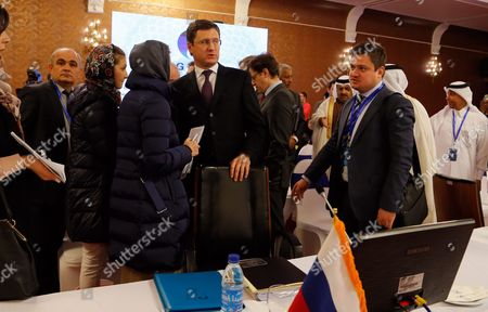 Russian Energy Minister Alexander Novak (c) Attends the Extraordinary Ministerial Meeting of Gas Exporting Countries Forum (gecf) in Tehran Iran 21 November 2015 Iran Will Hold Third Summit of Gas Exporting Countries Forum (gecf) in Tehran on 23 November 2015 with Nine Heads of State Attending Iran (islamic Republic Of) Tehran