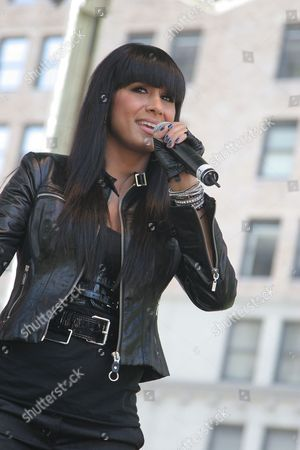 Editorial image of Jo De La Rosa performs at J and R Music World's 'MusicFest 2008', New York, America - 23 Aug 2008