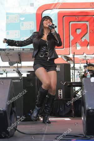 Editorial picture of Jo De La Rosa performs at J and R Music World's 'MusicFest 2008', New York, America - 23 Aug 2008