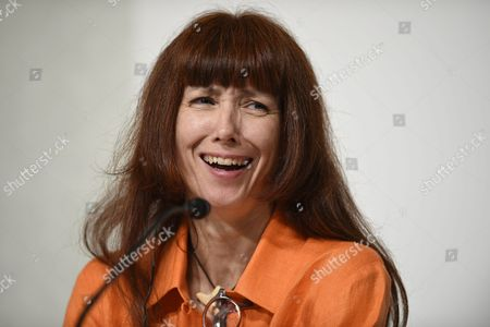 French Ballerina Sylvie Guillem Smiles During a Press Conference For the 27th Praemium Imperiale in Tokyo Japan 20 October 2015 the Praemium Imperiale is a Global Arts Prize Awarded Annually by the Japan Art Association Five Laureates Are Nominated in the Fields of Painting Sculpture Architecture Music and Theatre/film For Its 27th Edition the Praemium Imperiale Awards Have Been Given to Japanese Painter Tadanori Yokoo German Sculptor Wolfgang Laib French Architect Dominique Perrault French Ballerina Sylvie Guillem and Japan-born Pianist Mitsuko Uchida Japan Tokyo