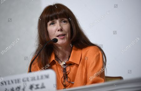 French Ballerina Sylvie Guillem Speaks During a Press Conference For the 27th Praemium Imperiale in Tokyo Japan 20 October 2015 the Praemium Imperiale is a Global Arts Prize Awarded Annually by the Japan Art Association Five Laureates Are Nominated in the Fields of Painting Sculpture Architecture Music and Theatre/film For Its 27th Edition the Praemium Imperiale Awards Have Been Given to Japanese Painter Tadanori Yokoo German Sculptor Wolfgang Laib French Architect Dominique Perrault French Ballerina Sylvie Guillem and Japan-born Pianist Mitsuko Uchida Japan Tokyo