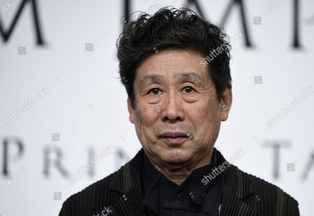 Japanese Painter Tadanori Yokoo Poses During a Photo Call For the 27th Praemium Imperiale in Tokyo Japan 20 October 2015 the Praemium Imperiale is a Global Arts Prize Awarded Annually by the Japan Art Association Five Laureates Are Nominated in the Fields of Painting Sculpture Architecture Music and Theatre/film For Its 27th Edition the Praemium Imperiale Awards Have Been Given to Japanese Painter Tadanori Yokoo German Sculptor Wolfgang Laib French Architect Dominique Perrault French Ballerina Sylvie Guillem and Japan-born Pianist Mitsuko Uchida Japan Tokyo