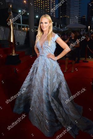 German-turkish Actress and Model Meryem Uzerli Arrives For the 7th Edition of the Beirut International Awards Festival (biaf) in Beirut Lebanon 28 July 2016 the Annual Award Ceremony Honors the Best Lebanese and Arab Singers and Actor in Various Categories Lebanon Beirut