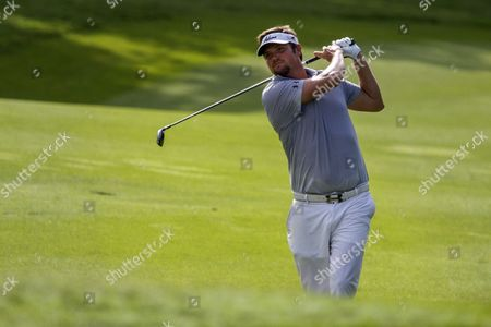 Jeff Overton of the Usa Watches His Shot During the Final Round of the Cimb Classic Golf Tournament in Kuala Lumpur Malaysia in Kuala Lumpur Malaysia 02 November 2014 Malaysia Kuala Lumpur