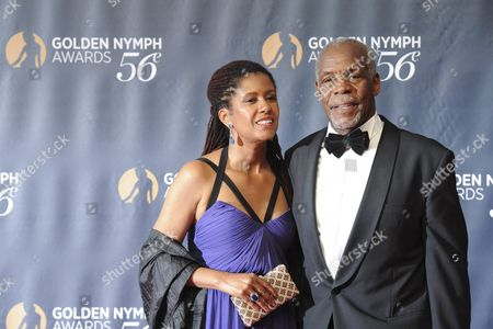 Eliane Cavalleiro and Danny Glover Arrive at the Golden Nymph Awards Ceremony at the 56th Monte Carlo Television Festival in Monaco 16 June 2016 the Festival Runs From 12 to 16 June Monaco Monaco