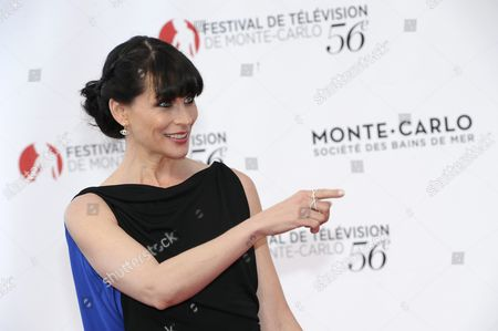 Us Actress Rena Sofer of the Tv Series 'The Bold and the Beautiful' Poses at the Opening Ceremony of the 56th Monte Carlo Television Festival in Monaco 12 June 2016 the Festival Runs From 12 to 16 June Monaco Monaco